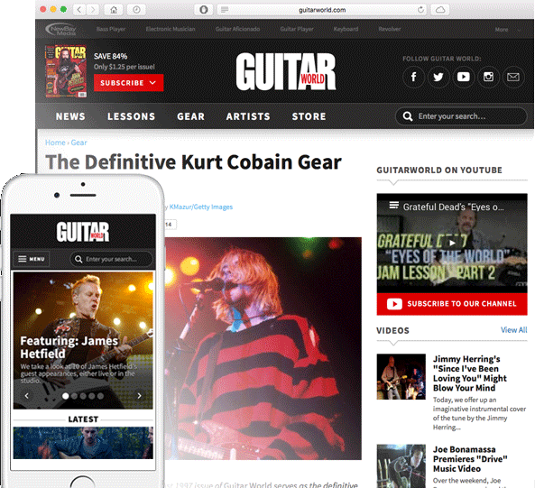 GuitarWorld screen